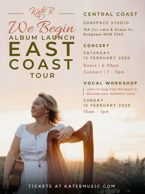We Begin Tour - Central Coast