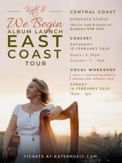 We Begin Tour - Central Coast