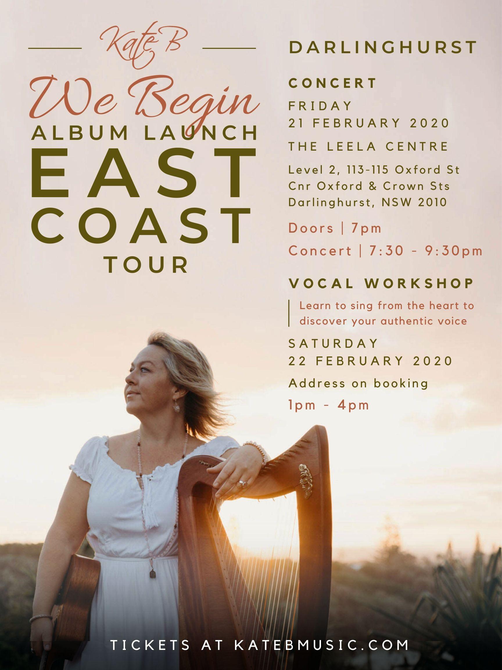 East Coast Tour - Darlinghurst