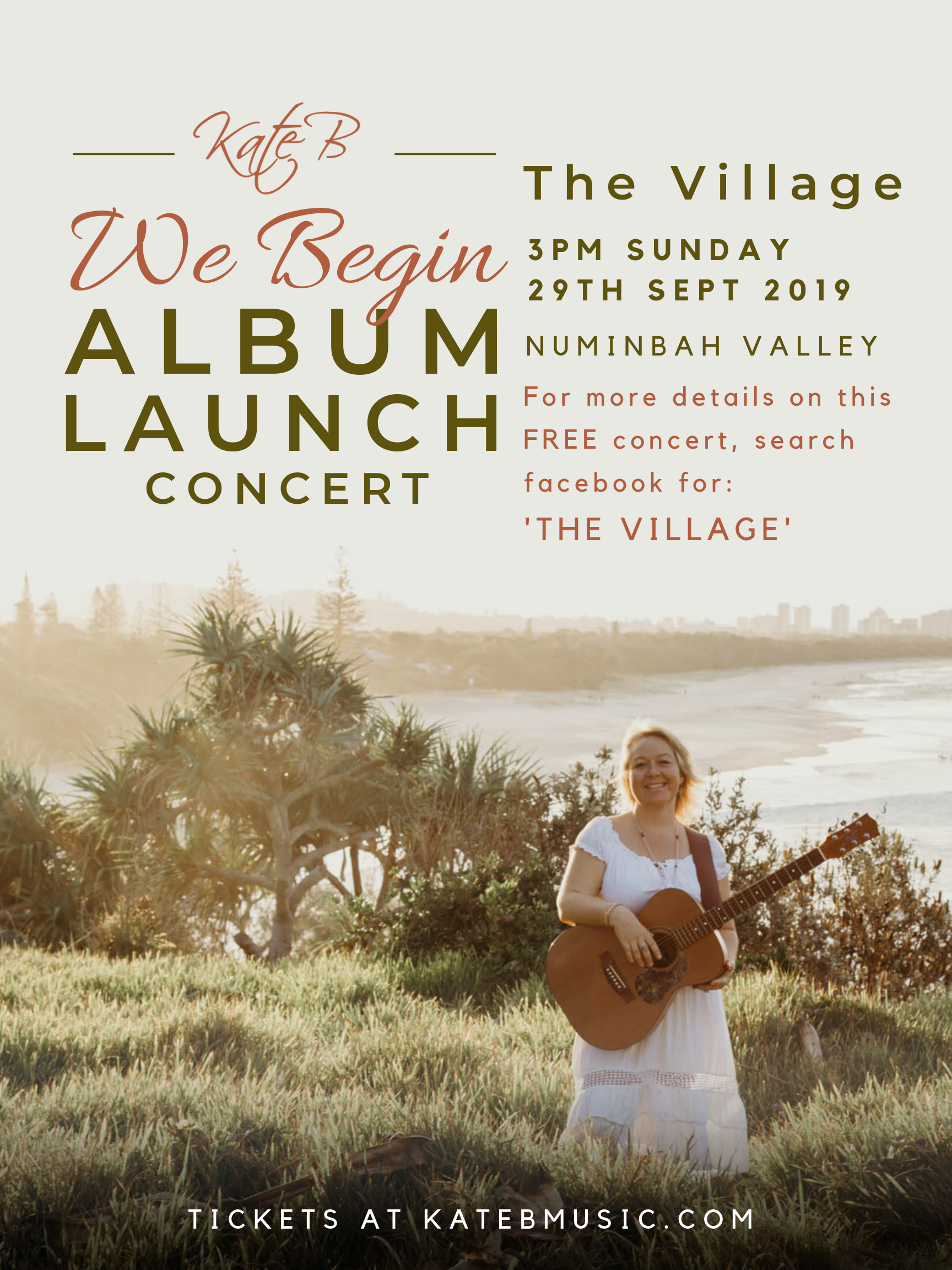 We Begin Album Launch - The Village