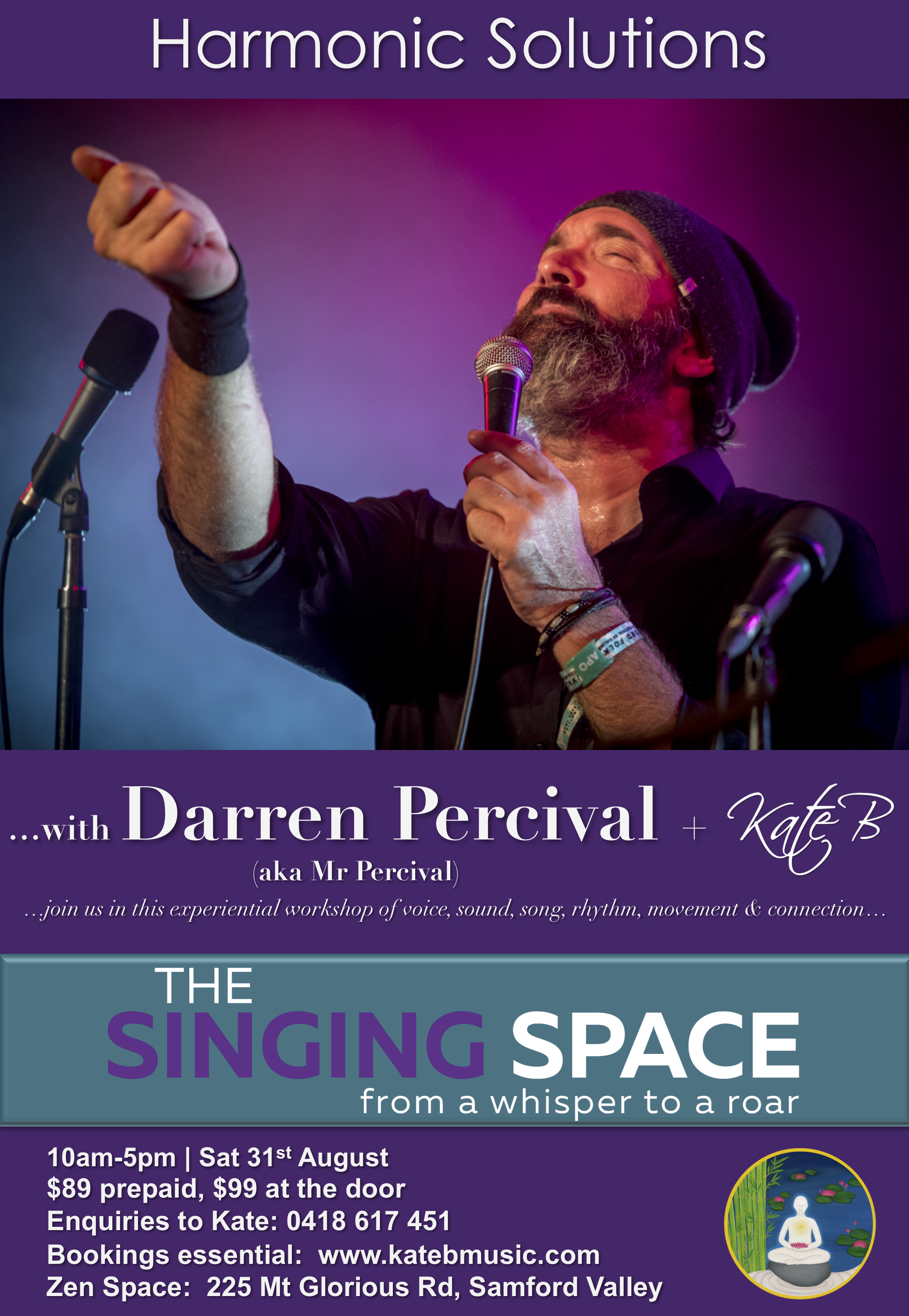 Harmonic Solutions with Darren Percival