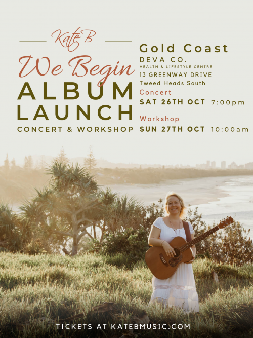 We Begin Album Launch - Gold Coast